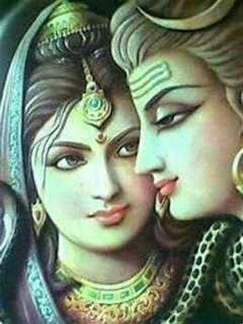 Download Lord Shiv & Goddess Parvati in Love 240 X 320
