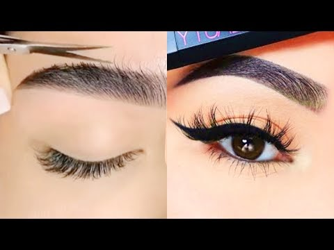 THE ULTIMATE EYEBROWS TRANSFORMATIONS 2020 - Beauty Tips For Every Girl