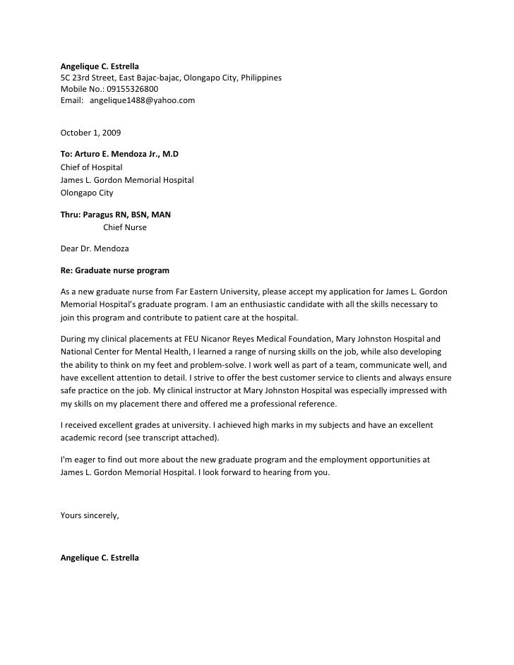 36 Government Philippines Government Job Application Letter Sample