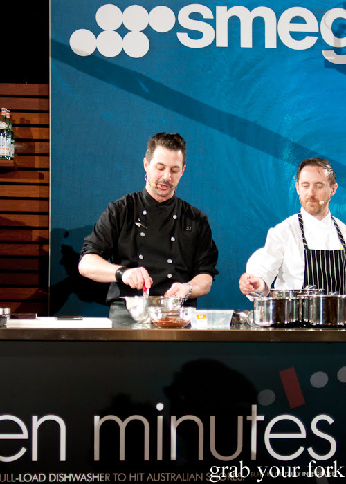 Johnny Iuzzini at the Langham Melbourne MasterClass for the Melbourne Food and Wine Festival 2014