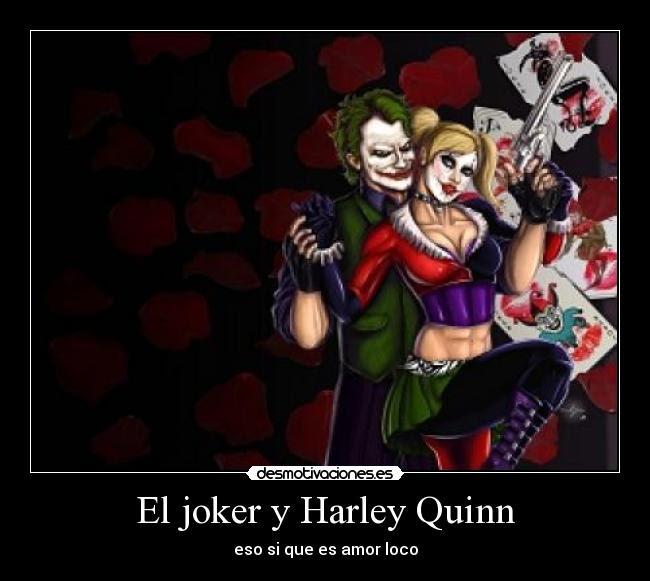 El Joker Y Harley Quinn Desmotivaciones