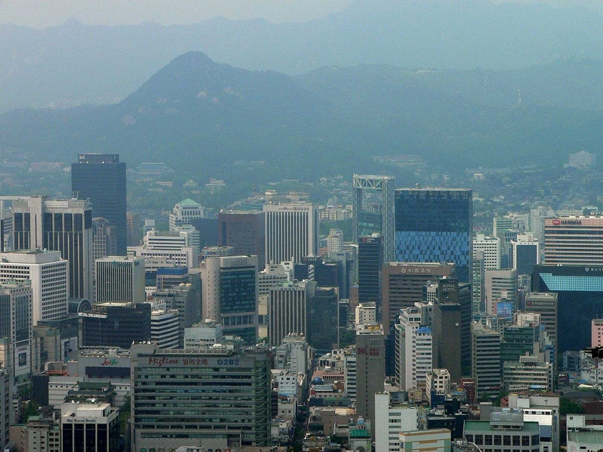 7.) SEOUL moved up one spot as South Korea takes an increasingly important position in Asian finance.