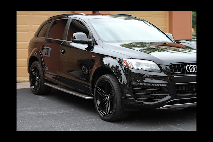 2015 Audi Q7 Blacked Out