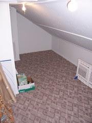 Ancillary walk-in attic