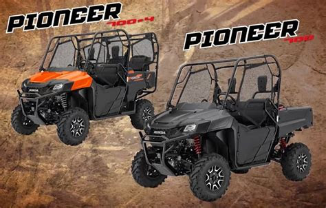 honda pioneer    side  side models