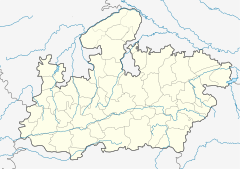 Location in Madhya Pradesh