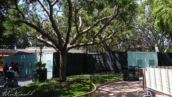 Disneyland Resort, Disneyland, New Orleans Square, Train Station