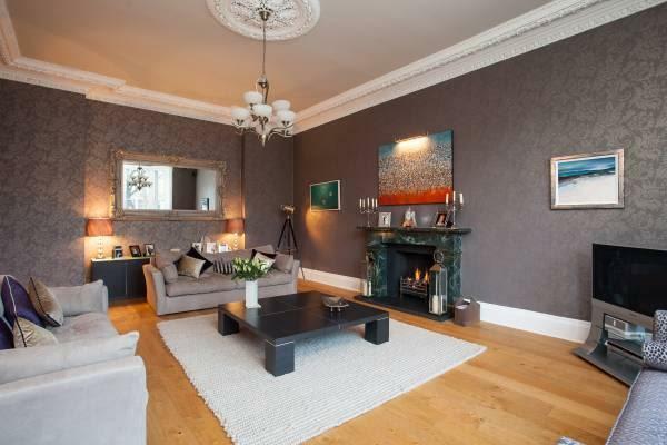 4 bedroom flat for sale in Buckingham Terrace, Edinburgh ...