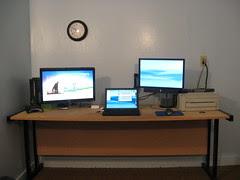 Desk Setup June 2009
