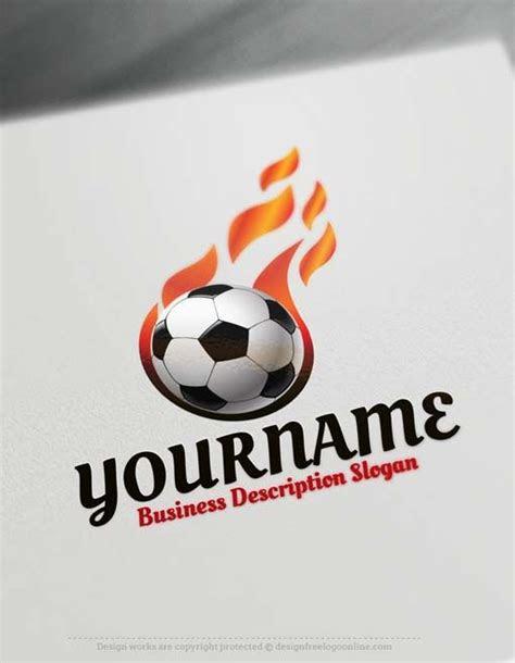 logo maker soccer football logo design template