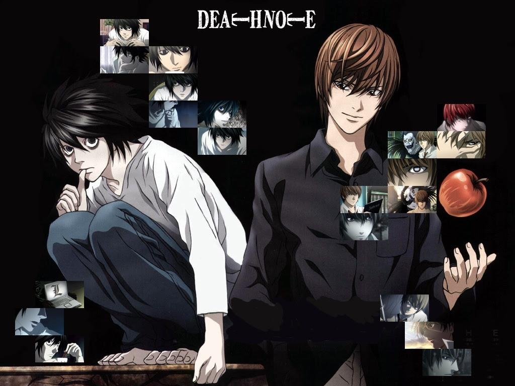 Death Note L Light Orice