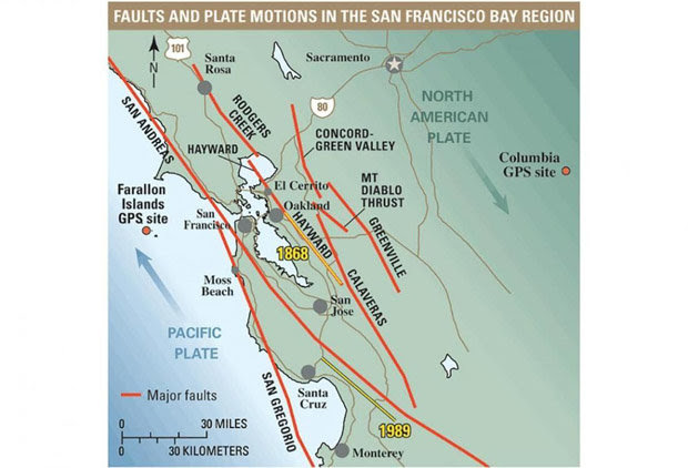 usgs earthquake map