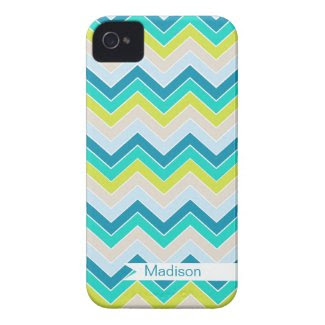 Island Oasis {chevron pattern} Iphone 4 Cover