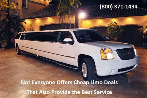 Not Everyone Offers Cheap Limo Deals That Also Provide the
