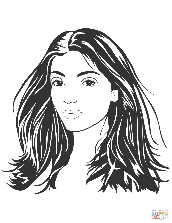 Dibujos De Mujeres Para Colorear Páginas Para Imprimir Y Colorear