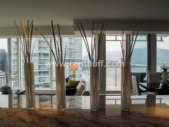 2227- One Bedroom Condo in Vancouver - contemporary - dining room ...