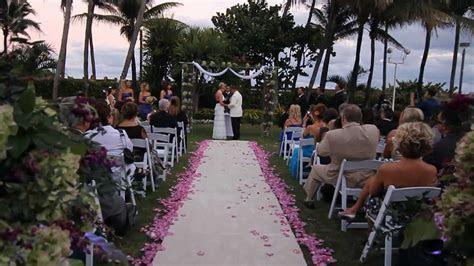 Fontainebleau Miami   Wedding of Tia & Matt   YouTube