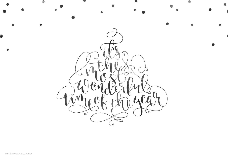 Free Christmassy Desktop Wallpaper Lark Linen