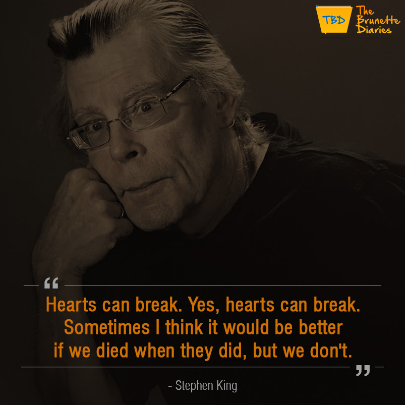 These Inspirational Quotes By Stephen King Will Give You A New