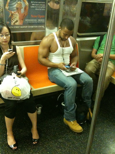 On the F Train, Manhattan