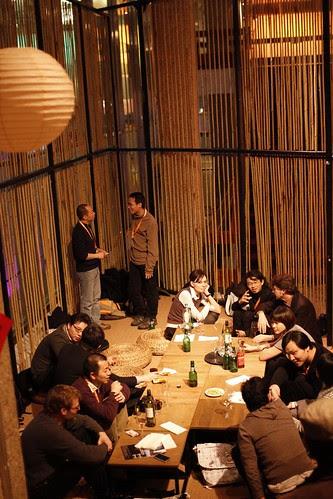 Chinese New Year gathering at Water Tiger Inn