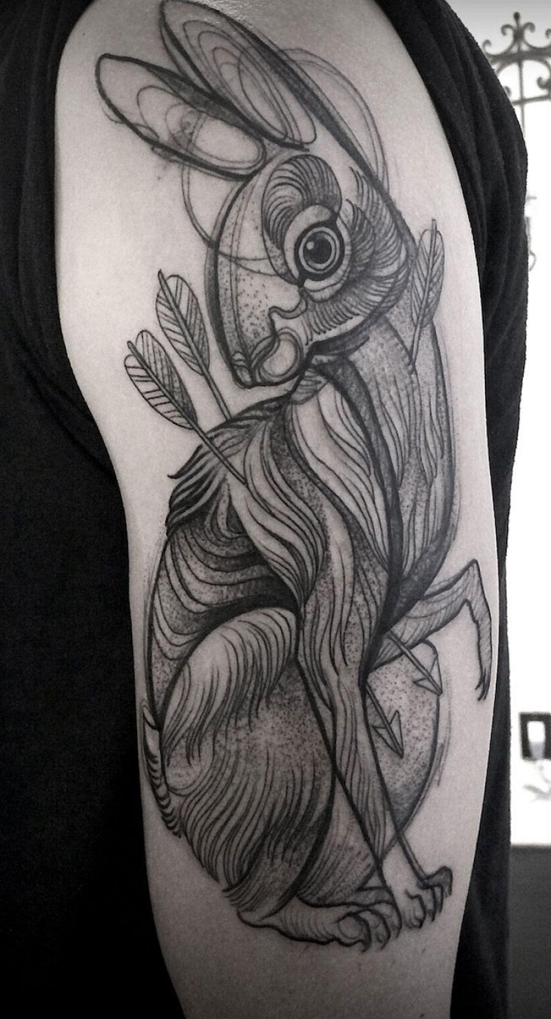 As tatuagens que parecem esboços de desenhos a lápis, por Nomi Chi 12