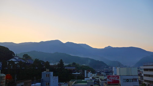 宇和島の朝