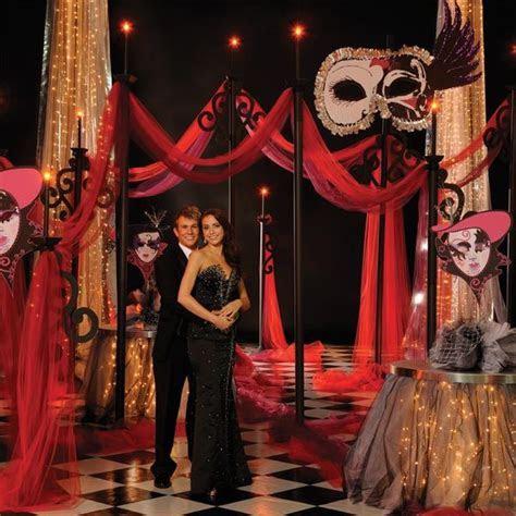Mystery Masquerade Theme   Anderson's   Prom ideas