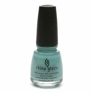 China Glaze Nail Laquer with Hardeners in Audrey