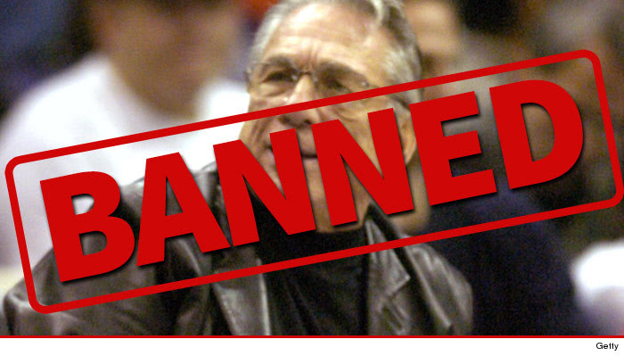 Donald Sterling Banned From NBA