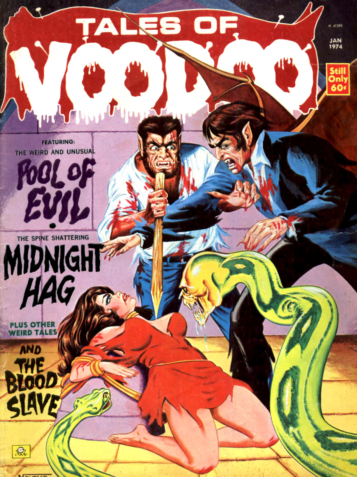 Tales of Voodoo Vol. 7 #1 (Eerie Publications 1974