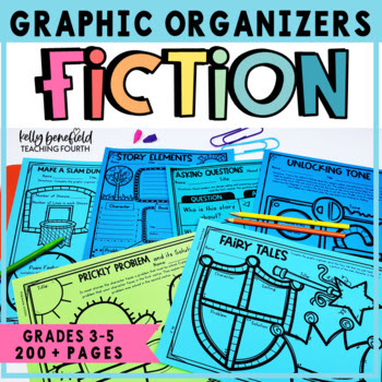 Graphic Organizers for Common Core Reading Literature Grades 3-5