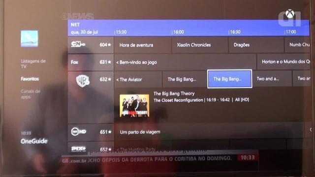 No Brasil, OneGuide do Xbox One permite trocar canal falando com a TV