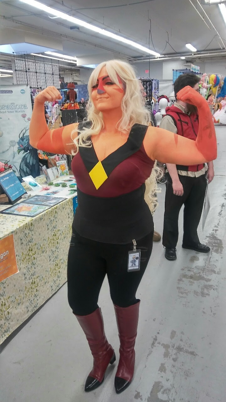 My Jasper cosplay at Another Anime Con 2016 💛💪✨