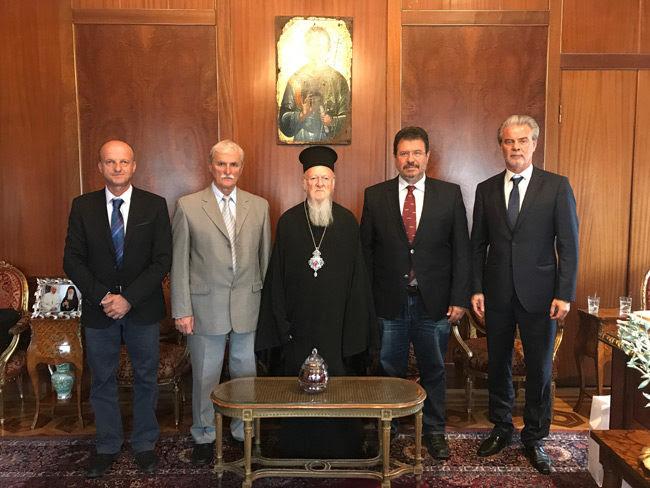 Εκπρόσωποι του Δήμου Αμφιλοχίας στο οικουμενικό Πατριαρχείο  – Πρόσκληση στον Παναγιώτατο να επισκεφτεί την Αμφιλοχία