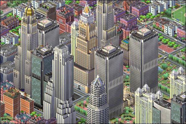 Sim City Isometric View