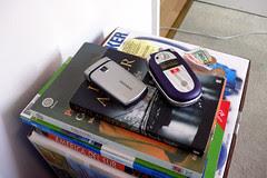 dous móbiles, ningunha chamada