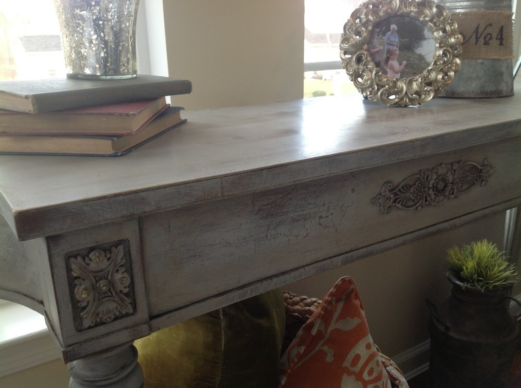From My Front Porch To Yours- How I Found My Style Sundays: Snazzy Little Things-Annie Sloan Chalk Paint DIY Table