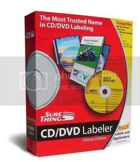 FREE DOWNLOADS: Sure Thing CD DVD Labeler 5.0.602.0