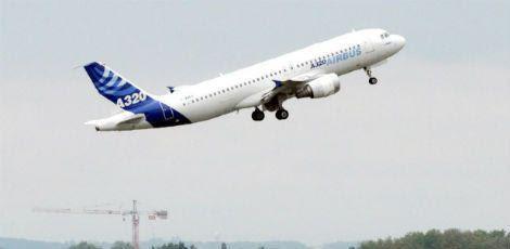 O Airbus era do modelo A320 / Foto: PASCAL PAVANI / AFP