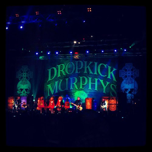 @dropkickmurphys at the Garden! #stpatricksday #boston #dropkickmurphys