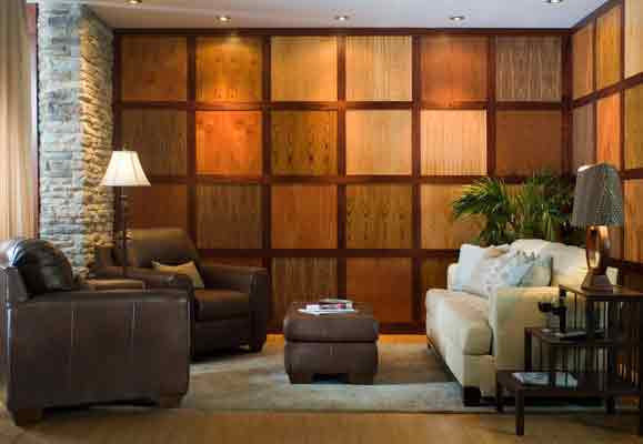 Contemporary wall panels home interior design - Modern wood wall paneling ...