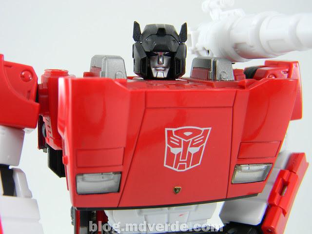 Transformers Sideswipe Masterpiece - modo robot
