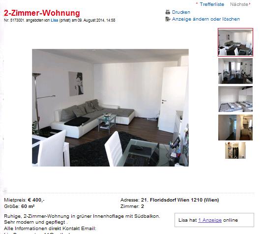 Wohnungsbetrug.blogspot.com: 14. August 2014