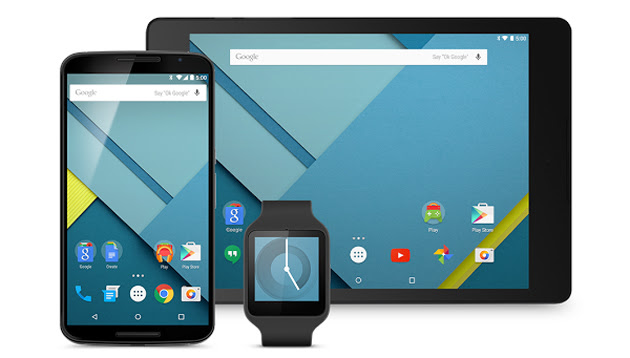 Android 5.0 Lollipop on the Nexus 6, Nexus 9 and Android Wear