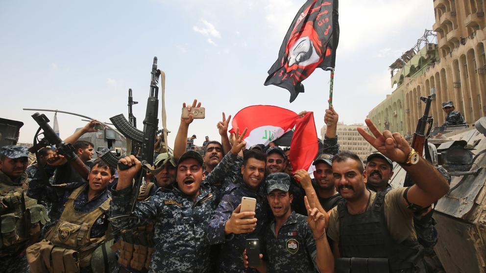 Irak anuncia la reconquista de Mosul sobre Estado Islámico tras nueve meses de combates