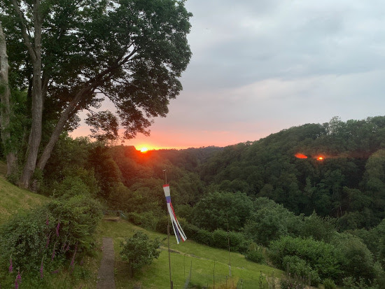 Last sunset from Hen Ffynnon