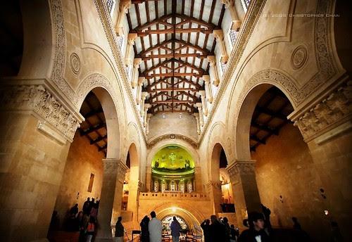 Interior de la nave central