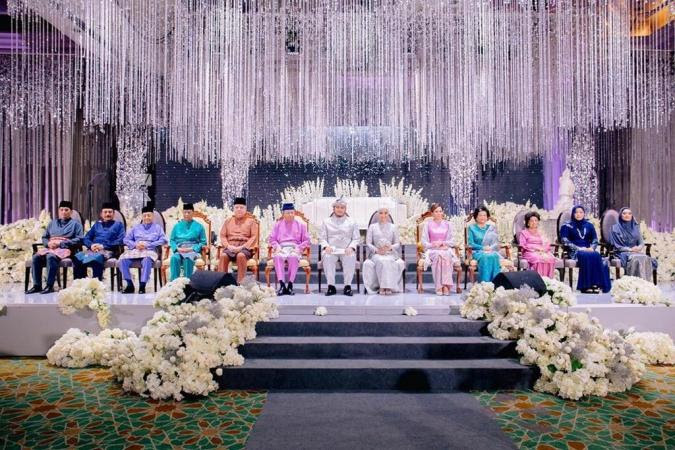 Image result for images of azmin daughter wedding recently