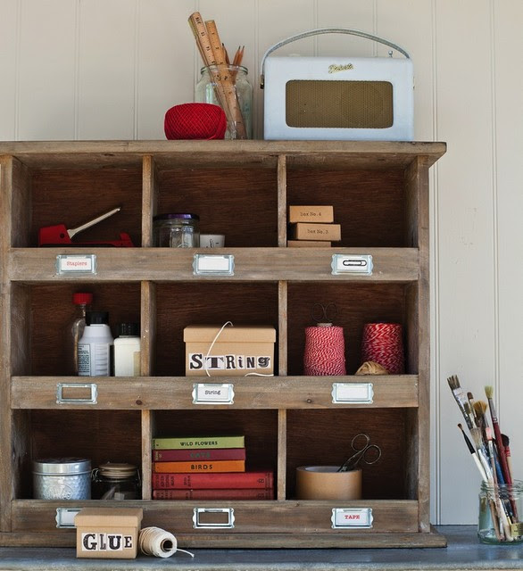 Wooden Wall Unit - eclectic - wall shelves - by Cox & Cox